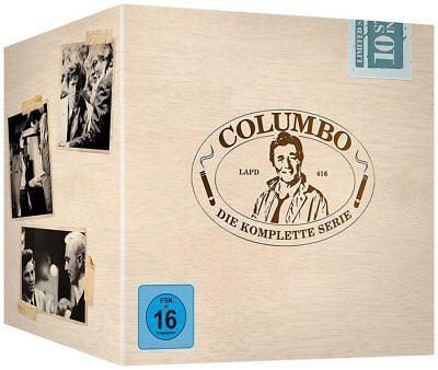 Columbo - Season/Staffel 1-10 Die komplette Serie (Gesamtbox) # 35-DVD-BOX-NEU