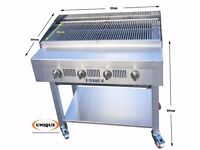 4 Burner Gas Charcoal Char Grill Heavy Duty for Commercial Use EN247 (oct)