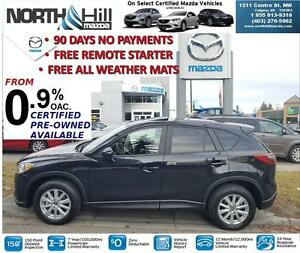 2015 Mazda CX-5 GS AWD LOW LOW KMS!  FREE REMOTE STARTER!