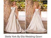 Brand New Designer Stella York for Essence of Australia size 10/12