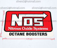 { { NOS (Nitrous Oxide Systems) 'NOS Octane Booster DECAL' } }