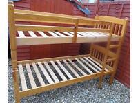 Pine Bunk Beds.