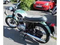 1967 Triumph TR6 Not Bonneville