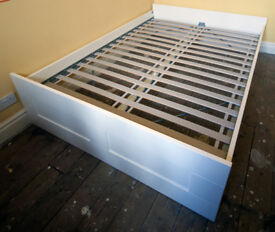 Ikead, double bed frame