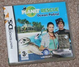 Planet Rescue: Ocean Patrol (Nintendo DS, 2008)