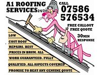 *FREE QUOTE*low cost Roof Repairs & Roofing Services*1hour response Beat Any Quote*Any Leak*(Roofer)
