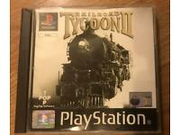 PlayStation 1 railroad tycoon 2 game. Ps1