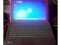 Sony Vaio PCG-21313M pink laptop with windows 7