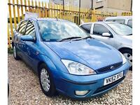 ★🎈PAYDAY SALE🎈★ 2002 FORD FOCUS 1.8 TDDI GHIA DIESEL ★8 SERVICE STAMPS★ MOT JUL 2017★KWIKI AUTOS★