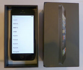 iPhone 5 in good condition 16gb locked to EE boxed