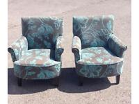 Small armchairs x2