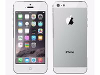 iPhone 5 Silver 16GB Unlocked Mint Condition