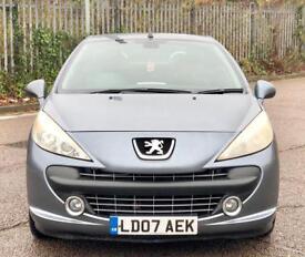 Peugeot 207CC Low Mileage Convertible £1790 ONO