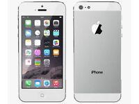 Apple IPhone 5 Silver 16GB EE / Virgin