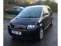 Audi a2 1.4 tdi (diesel) panoramic roof