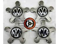 Set of 4 genuine VW Audi centre caps in excel cond.
