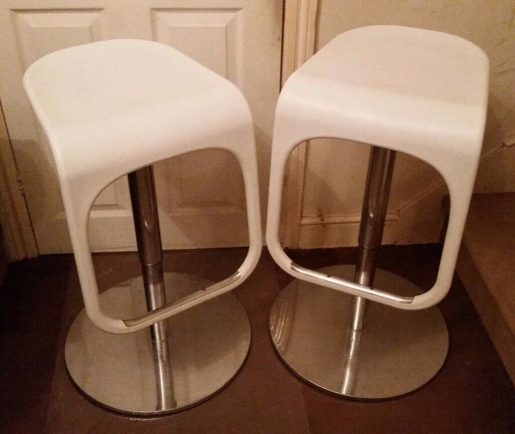 Pair cool kitchen stools