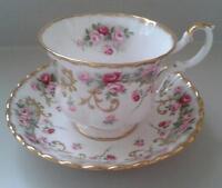 """Royal Albert China Cup & Saucer """" Rosemary"""""""