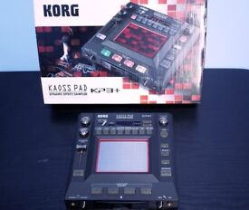 Korg KP3+ Dynamic Effects and Sampler