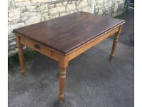 Beautiful old table (free local delivery)