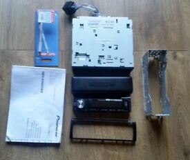 pioneer car radio, deh-x6600dab cd rds receiver.