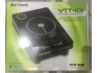 DJ TECH VTT 101 Turntable Great Condition Fully Packaged