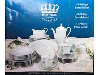 Hoffman 41 piece porcelain dinner service