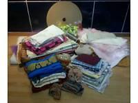 Large Craft Bundle - Fabric, Bias etc