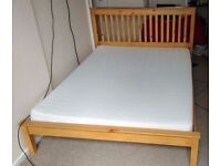 King Size Mermory Foam Mattress, very comfortable and in very good condition