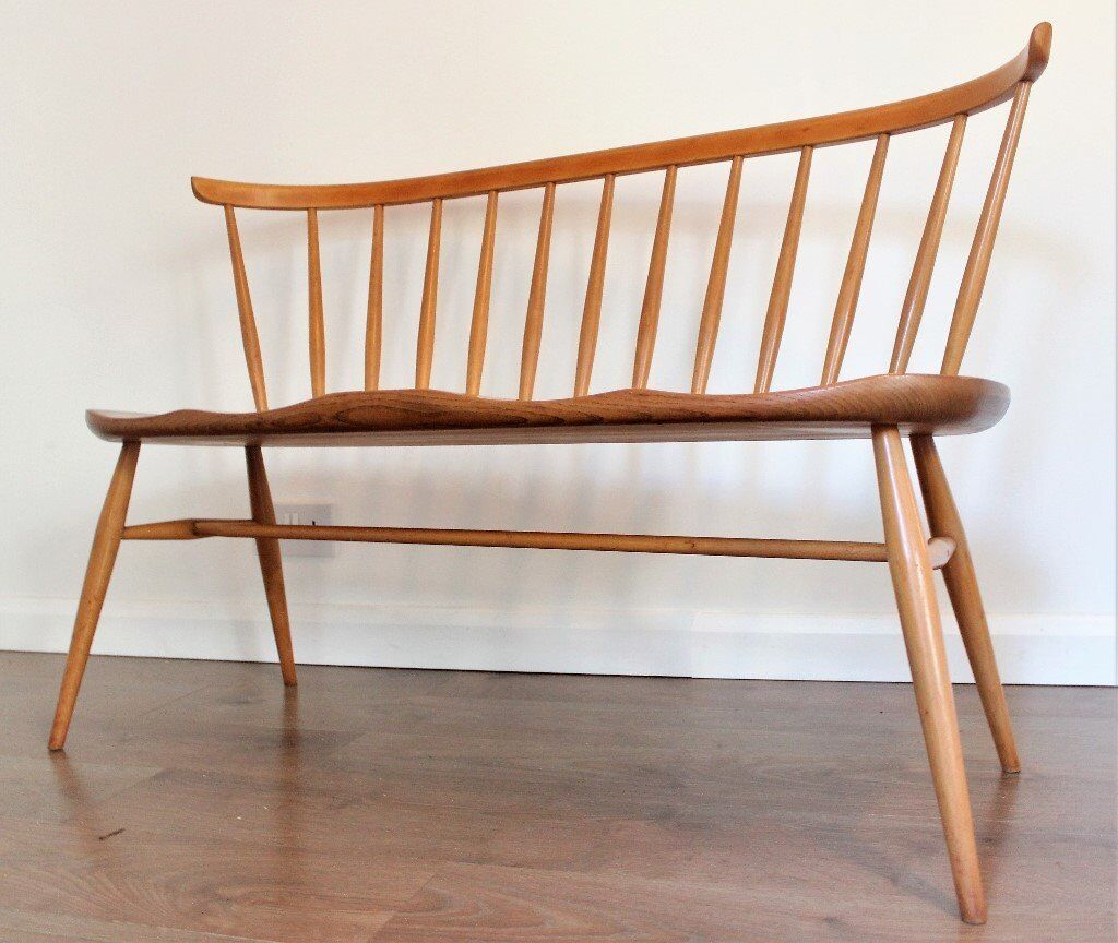 Strange Rare Vintage Ercol Blonde Love Seat Bench Model 349 1950S Model In Bracknell Berkshire Gumtree Alphanode Cool Chair Designs And Ideas Alphanodeonline