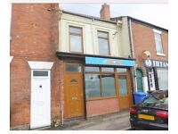 To let Shop with flat -Burton Road - Derby