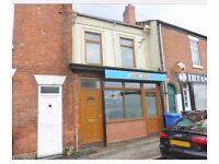To let Shop/flat -Burton Road - Derby