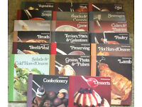 Vintage Set of 20 Cookery Books Late 70s' Early 80s - Superb condition - majority never used