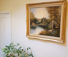 Crisp Quality Oil Painting (Original) - Impeccable Condition