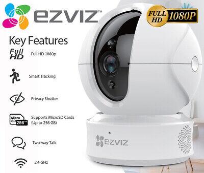 EZVIZ 1080p Indoor Pan/Tilt WIFI Security Camera, 360° Full Room 2-Way Talk C6CN