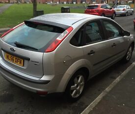 Ford Focus sport 1.6 tdi, low milage, 5 door, silver, ford alloys, clean and reliable