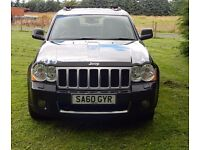JEEP GRAND CHEROKEE OVERLAND 3.O CRD AUTO, FULLY LOADED