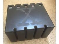 X-Files Black Forensic Evidence Box Set - VHS - Very Rare - specially designed to house 5 VHS tapes.