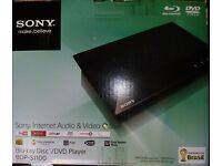 Sony Blu-Ray disc/DVD player as new