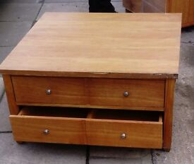 Next Large Coffee Table with 4 Draws
