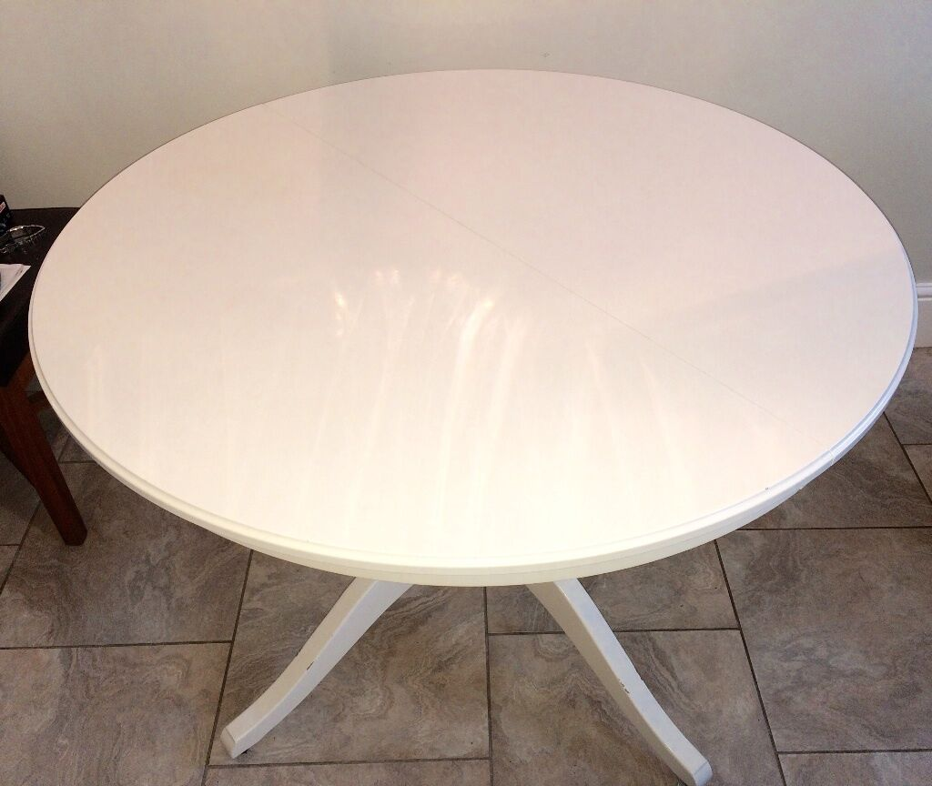 Reduced For Quick Sale Ikea Ingatorp Round Extending