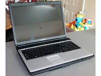 TOSHIBA L350-170 SYSTEM 17IN LAPTOP