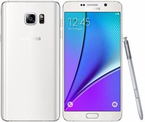Samsung Galaxy Note 5 64GB Black/White Unlocked in Mint Condition!