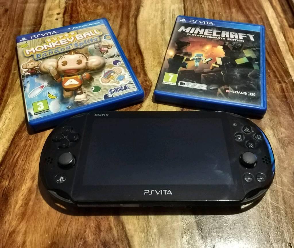 PS Vita Slim, Plus Two Games