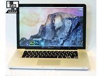 "15.4"" Apple MacBook Pro 2.53Ghz Core 2 Duo 4gb 500GB Microsoft Office 2016 Traktor Scratch Pro"