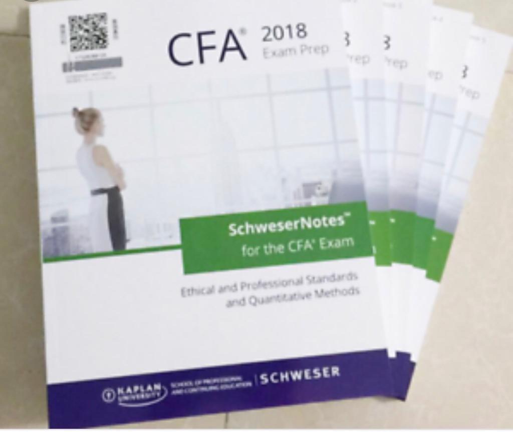 Schweser Notes CFA Level I 2018 | in East Dulwich, London