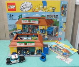 LEGO - SIMPSONS KWIK-E-MART - RETIRED SET - 100% COMPLETE - BOXED - EXCELLENT CONDITION