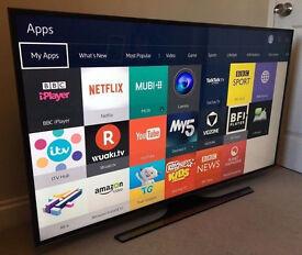 60in Samsung 4k UHD SMART TV -1000hz- wifi - Freeview HD