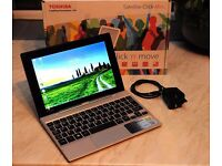 Toshiba Click Mini 2 in 1 Laptop 9 inch Laptop and Touchscreen Tablet