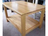 Coffee Table -Solid Oak